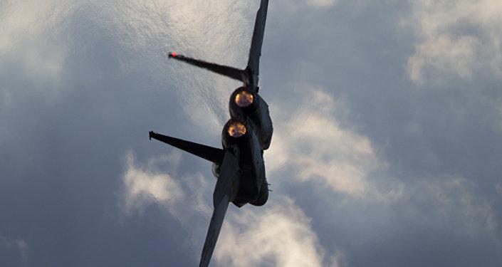 F-15 da Força Aérea Israelense.