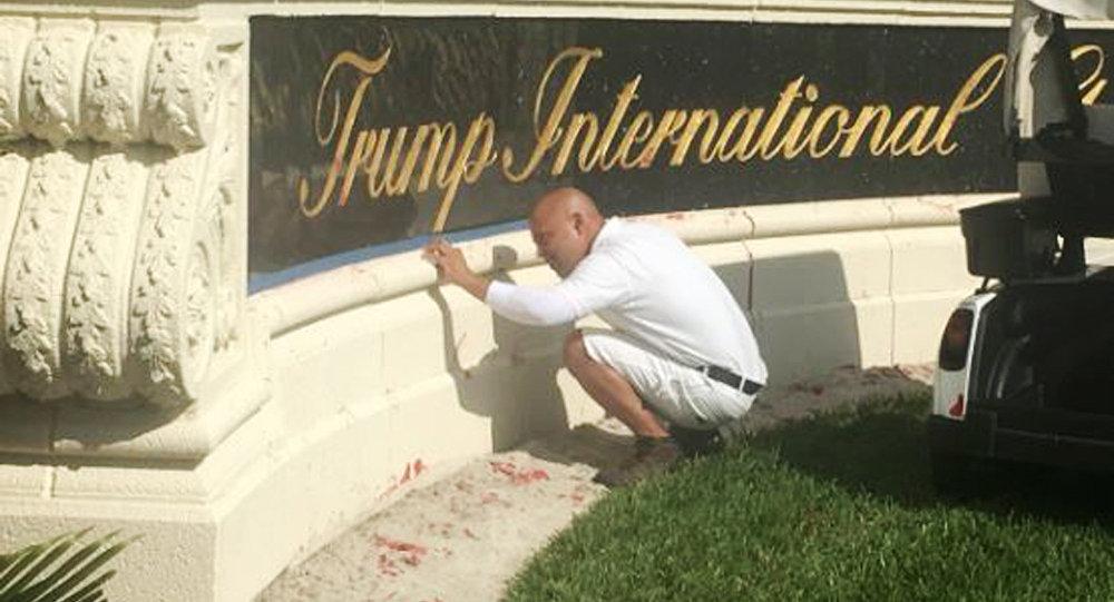 Campo de Golpe de Trump na Flórida.