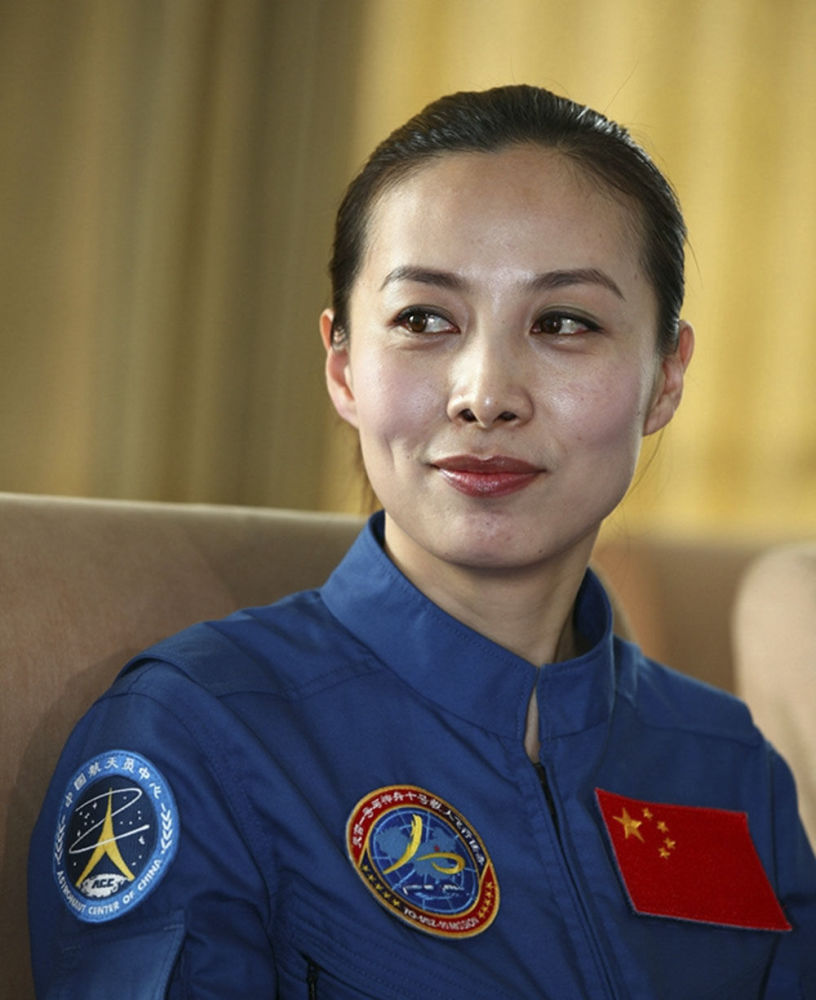 Wang Yaping, a primeira chinesa anunciada oficialmente como taikonauta pelo programa espacial chinês