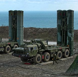 Sistemas S-400 da Rússia (foto do arquivo)