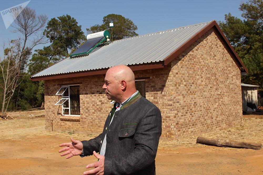 Dannie de Beer, membro do Conselho de Administração de Kleinfontein