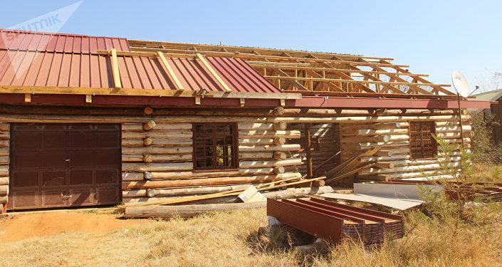 Construção de vivenda em Kleinfontein