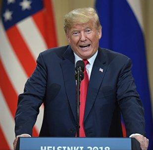 Presidente dos EUA, Donald Trump