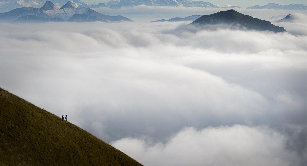 Alpes suíços (foto de arquivo)