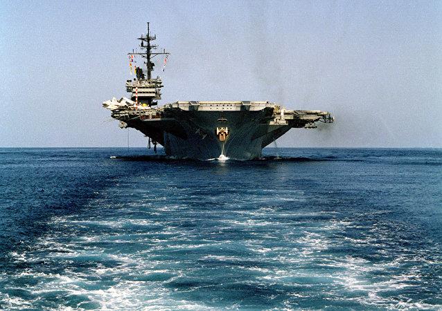 Porta-aviões USS America (foto de arquivo)