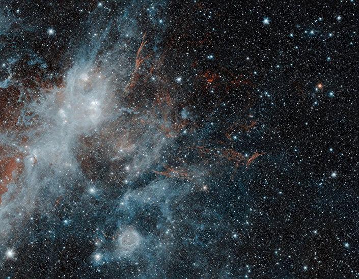Resquícios da supernova HBH 3