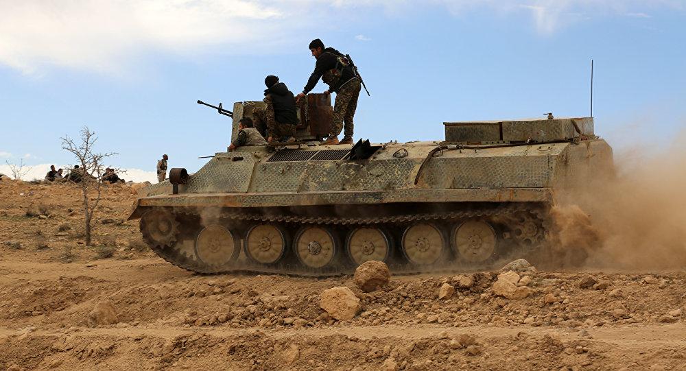 Combatentes das Forças Democráticas da Síria (SDF) (Arquivo)