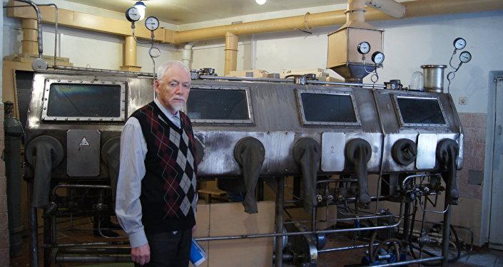 O professor Aleksandr Buinovsky