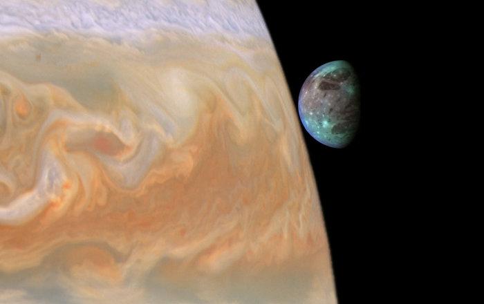 Sonda espacial da NASA tira FOTOS impressionantes da maior lua do Sistema Solar