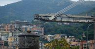 A Ponte Morandi, que foi construída em 1968, foi fechada após o incidente