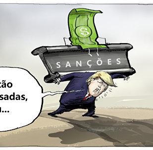 Difícil aguentar a barra das sanções