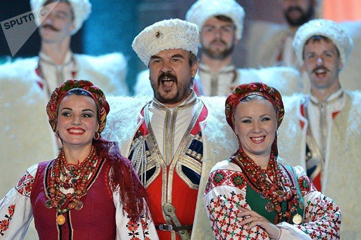O Coro Cossaco de Kuban