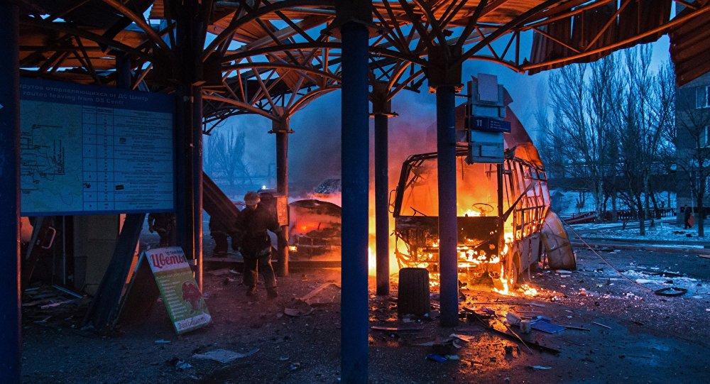 Donetsk: ataque a estação de ônibus deixa um morto