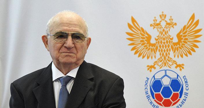 Nikita Simonyan, presidente da União Russa de Futebol.
