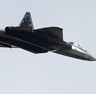 Caça russo da quinta geração Su-57