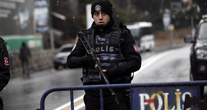 Policial turco (arquivo)