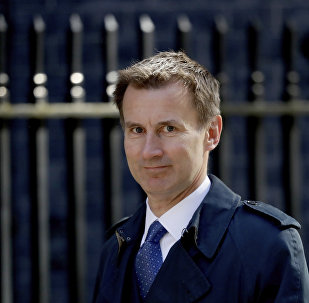 Ministro britânico Jeremy Hunt