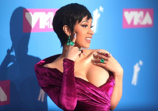 Cantora americana Cardi B participa da cerimônia de condecoração MTV Video Music Awards em Nova York