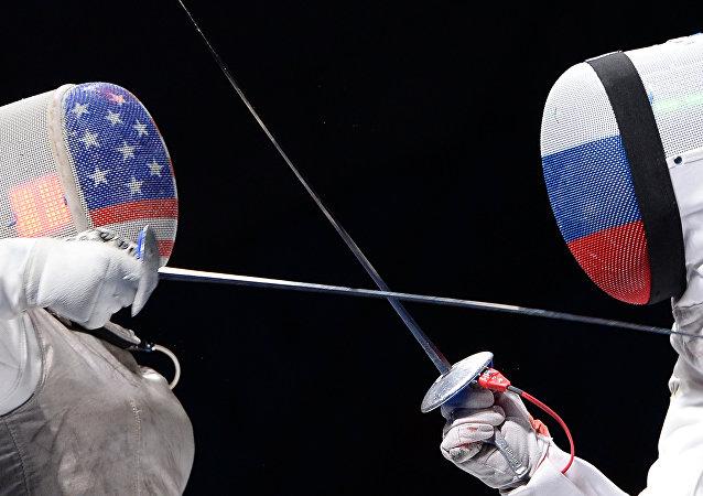 EUA contra Rússia (imagem referencial)