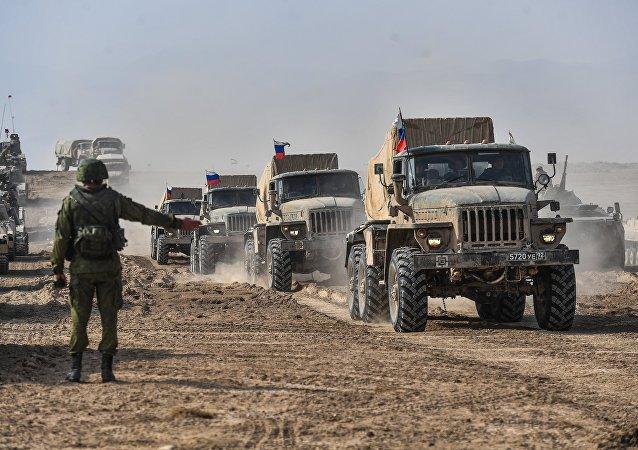 Manobras militares na Rússia