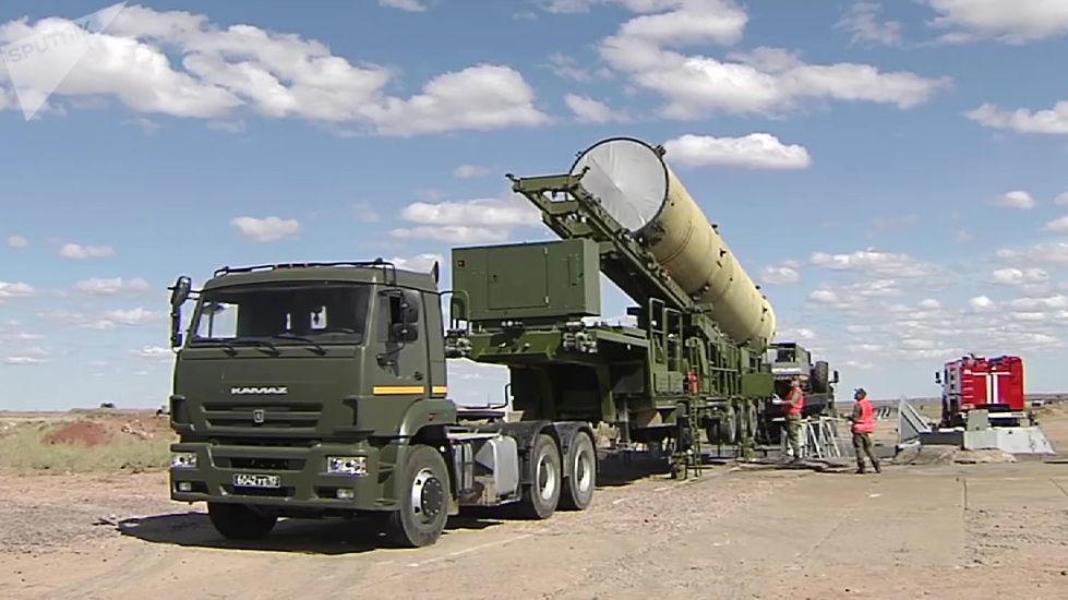 Militares russos se preparam para lançar novo míssil interceptador no polígono de Sary Shagan