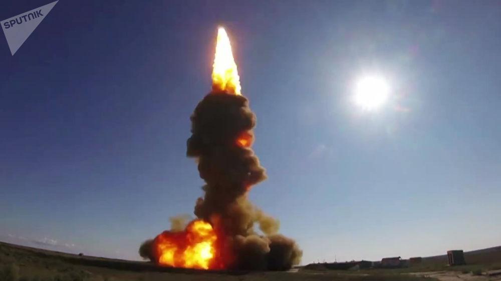 Momento exato do lançamento de míssil interceptador realizado em 30 de agosto pelo Exército russo