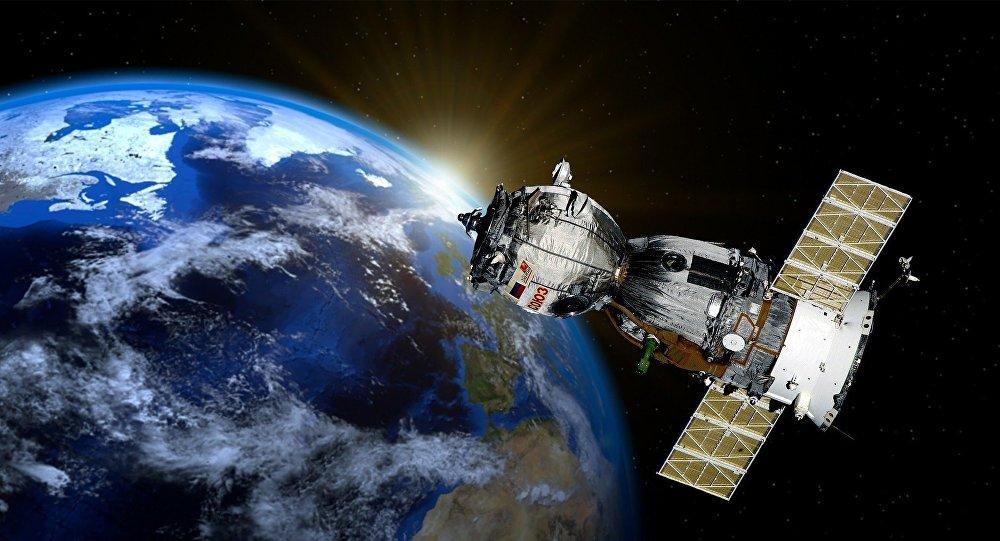 Nave espacial russa Soyuz