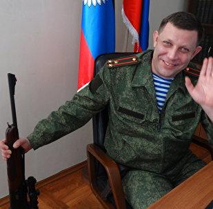 Aleksandr Zakharchenko, antigo líder da República Popular de Donetsk (RPD)