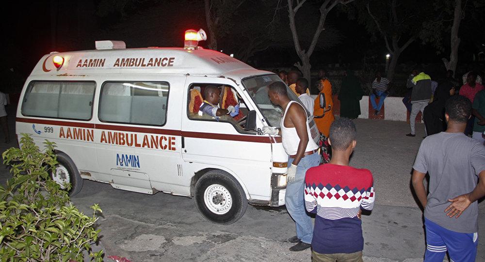 Ambulância na Somália