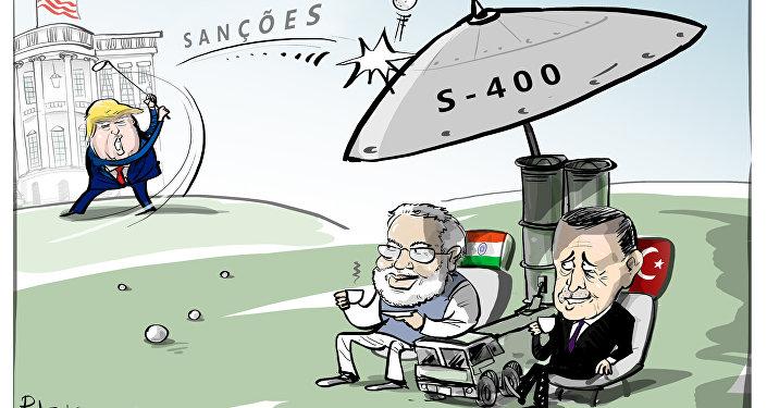 Não há sanção que segure desejo de possuir S-400 russos