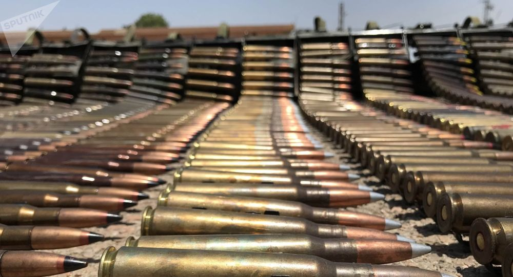Armamentos abandonados por radicais na província de Daraa (foto do arquivo)