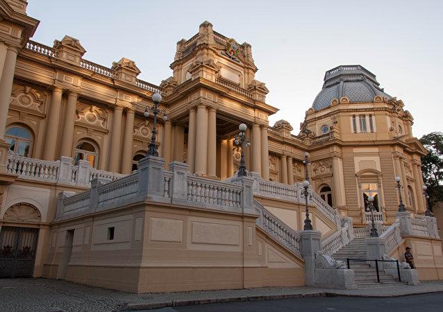 Palácio da Guanabara, sede do governo do estado do Rio de Janeiro