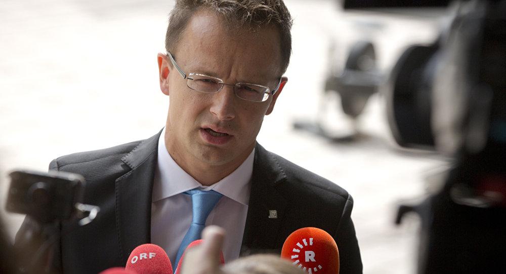 Chancer húngaro Peter Szijjarto