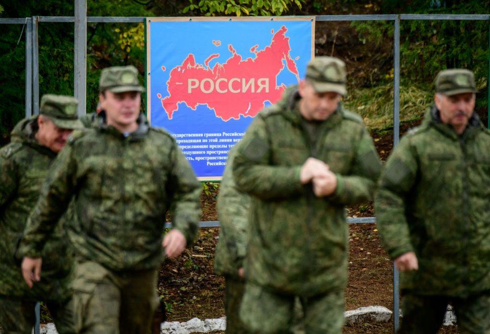 Militares russos durante as manobras Vostok 2018 no Extremo Oriente