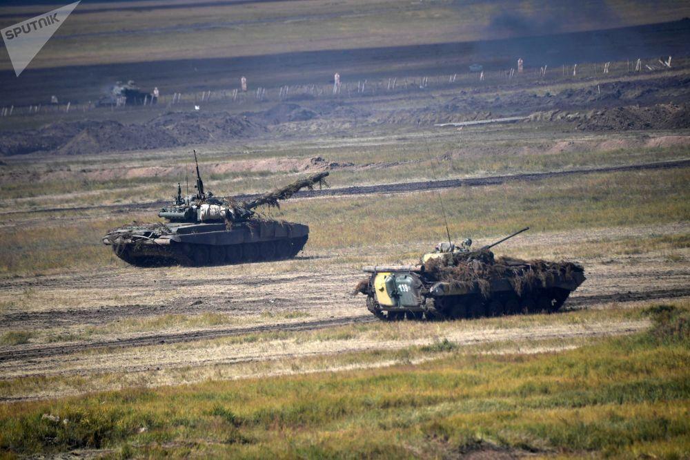 A etapa principal das manobras militares Vostok 2018