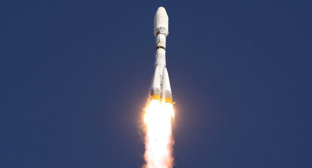 89e5d35410d Lançamento do foguete Soyuz foi realizado com sucesso na base de Kourou