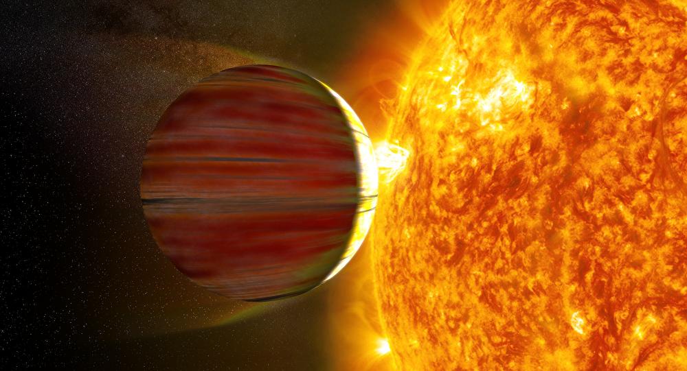 Júpiter quente (imagem ilustrativa)