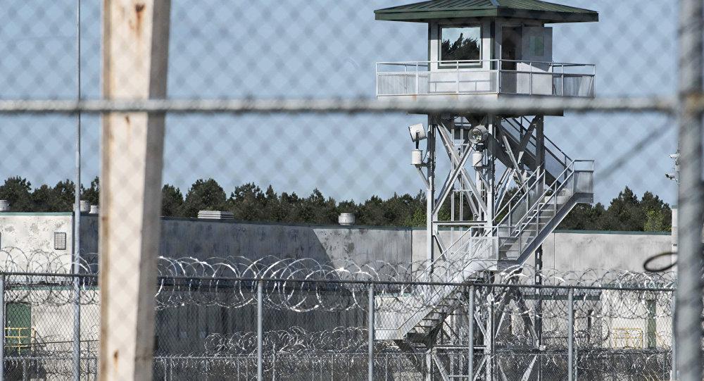 Prisão de segurança máxima em Bishopville, Carolina do Sul, EUA.