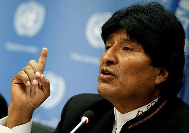 Presidente da Bolívia, Evo Morales (foto do arquivo)