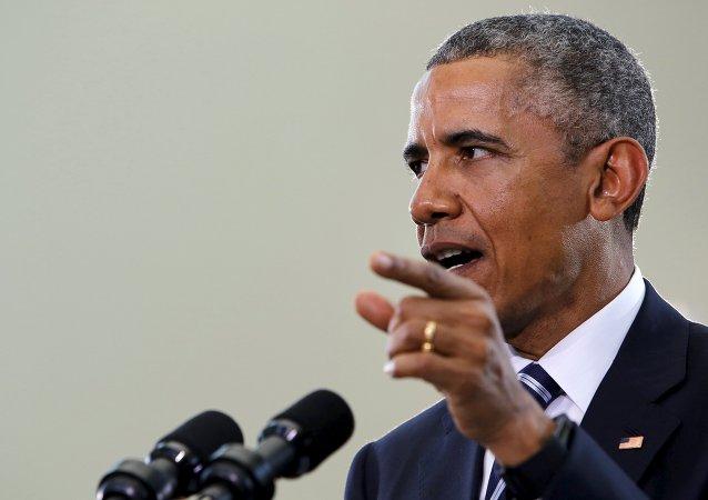 Barack Obama, presidente dos EUA.