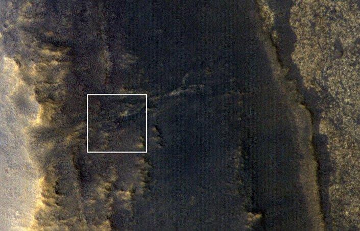 Imagem do rover Opportunity, que estava desaparecido em Marte desde início de junho de 2018 devido à tempestade de areia no Planeta Vermelho
