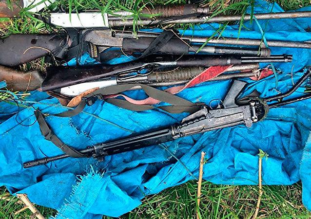Armas de grosso calibre são protagonistas nas ações dos piratas de Coari