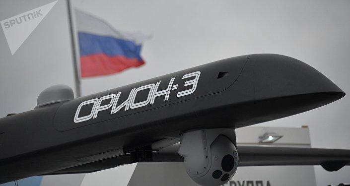 Orion-E – é o primeiro drone russo capaz de lançar ataques aéreos