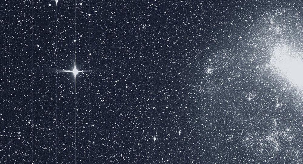 A primeira imagem científica de estrelas recebida do telescópio TESS, que viaja no espaço