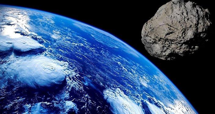 Asteroide que está se aproximando da Terra