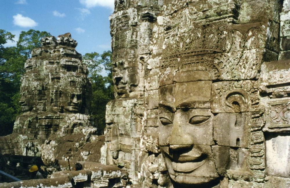 Ruínas na região de Angkor, Camboja