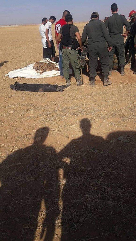 Vala comum na província síria de Idlib