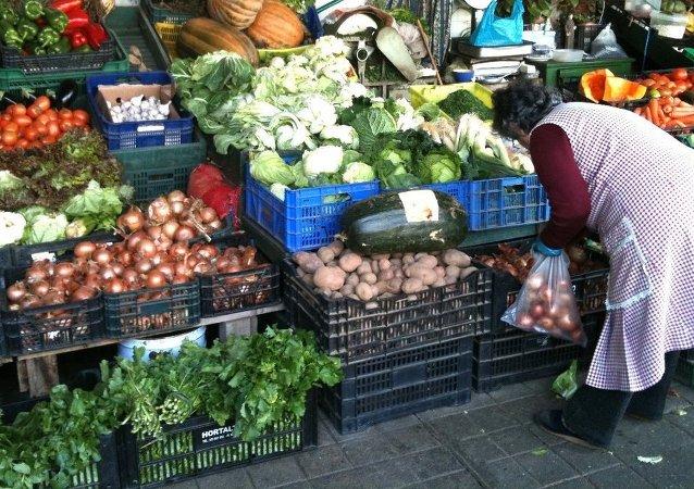 Mercado em Espanha