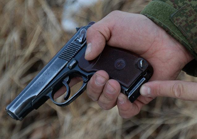 Pistola Makarov (foto de arquivo)
