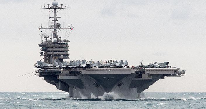 Porta-aviões americano USS Harry S. Truman